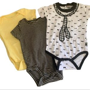 0-3 Month Baby Infant Bundle Clothes Onsies Boys